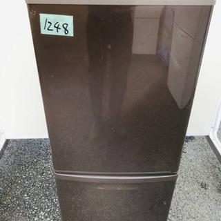 1248番 Panasonic✨ノンフロン冷凍冷蔵庫✨NR-B1...