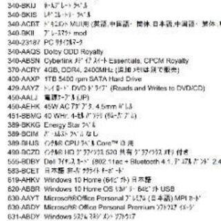 ノートパソコンDELL Inspiron15 3000シリーズ