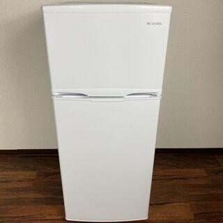 2*1 美品★アイリスオーヤマ 2ドア冷蔵庫 AF118-…