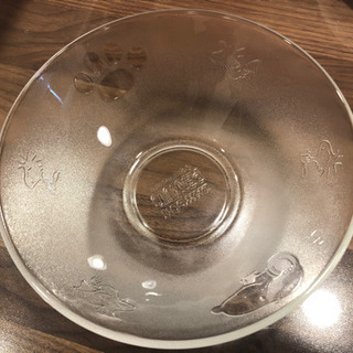 SNOOPYのガラスボウル