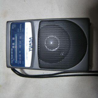 YUASA ポケットラジオ