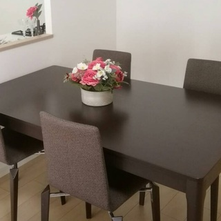 ダイニングテーブル+椅子4脚セット A