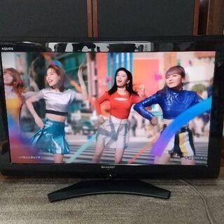 アクオス32型TV。LCー32E9。動作正常品