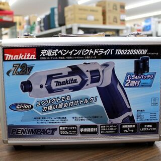 札幌 新品未使用品!! makita/マキタ 充電式ペンインパク...