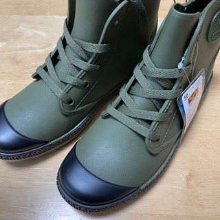 新品未使用!! ワークマン 防水ブーツ 24cm