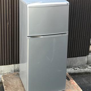 AQUA アクア コンパクト2ドア冷蔵庫 AQR-111A(SB)