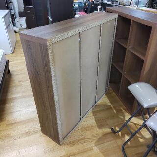 k165☆フリーラック☆木製☆幅1150㎜×高さ1150㎜×奥行き295㎜☆近隣配達、設置可能 - 売ります・あげます