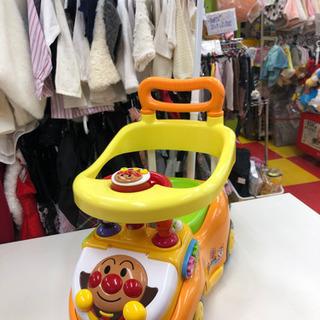 アンパンマン よくばりビジーカー2 乗用玩具 車 かじ取り付き