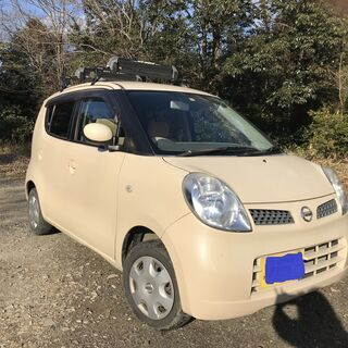 【ネット決済】【4WD】日産モコ E FOUR 2007年式