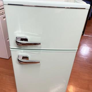 冷蔵庫小型 2枚扉 2019年製 2ドア