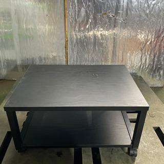 kj0226-22 ラック 木 鉄 黒 一段
