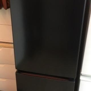 アイリスオーヤマ 2019 ノンフロン冷凍冷蔵庫 156L ブラ...