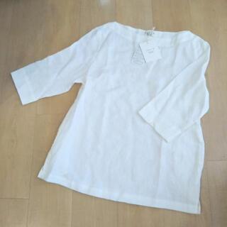 Swarm 7分袖 リネンシャツ