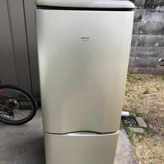 【中古】ナショナル 冷凍・冷蔵庫  137L