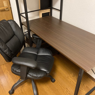 勉強机と椅子のセット