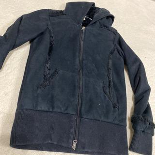 【ネット決済】OP 冬物アウター上着 パーカーM フリースジャケット