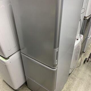 シャープ 大型 冷蔵庫 幅60cm 350L 2019年製 3ド...