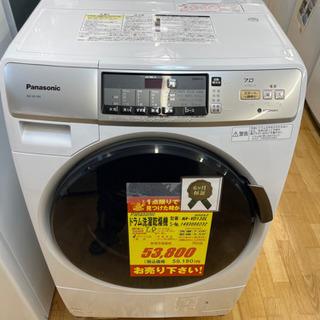 Panaonic製★7㌔ドラム式洗濯乾燥機★6ヵ月間保証付き★近...