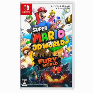 Switch スーパーマリオ 3Dワールド+フューリーワールドと...