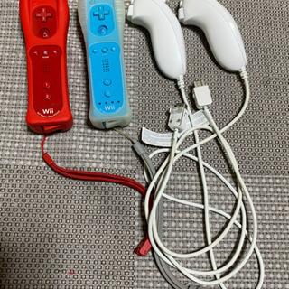 Wii 本体とリモコンとヌンチャク! - おもちゃ