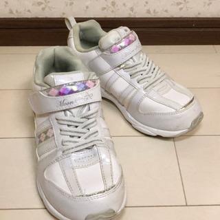 子供靴 21cm 女の子 シューズ