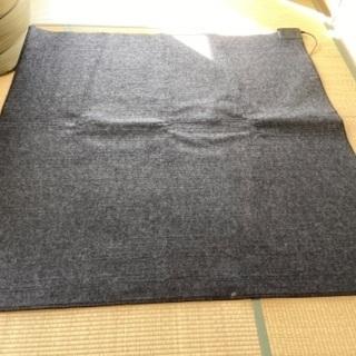 【中古】ホットカーペット 無印良品 175×175cm
