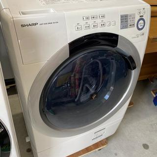 激安‼️ シャーププラズマクラスター搭載 ドラム洗濯乾燥機 ES...