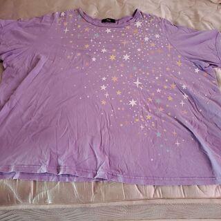 新品 10L パープル Tシャツ