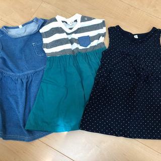 80センチ 女の子夏服