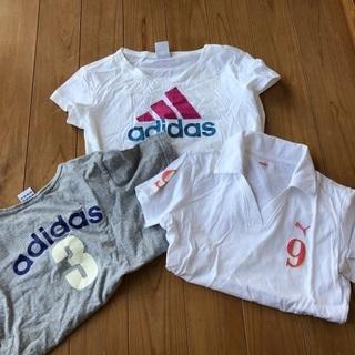 adidas、PUMA スポーツTシャツ 美品