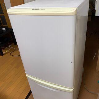 冷蔵庫 Panasonic NR-TB141W-HG 138L