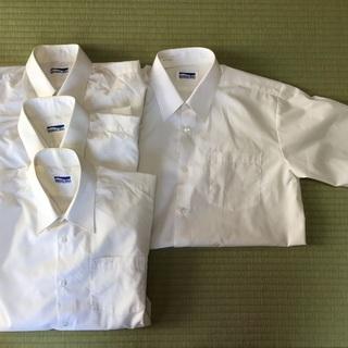 男子スクールワイシャツ 4枚