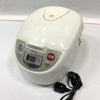 TIGER タイガー 炊飯器 5.5合炊き JBA-B100 アーバンホワイト マイコン炊飯ジャー  中古 Cの画像
