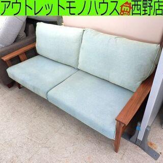 ▶3人掛けソファ 家具の大丸 グリルⅡ 幅180cm×奥行89×...