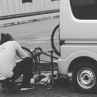 ☆自転車の出張修理☆