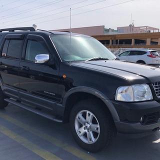 フォード エクスプローラー ディーラー車 黒革 車検付