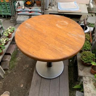コーヒー丸テーブル②