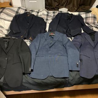 スーツ ジャケット ネクタイ オマケ付き 5着