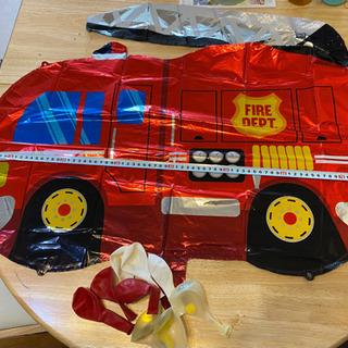 誕生日バルーン⭐︎消防車