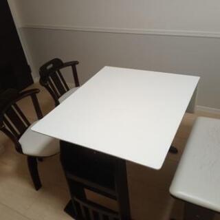 【お譲り先決定】中古ダイニングテーブルセット