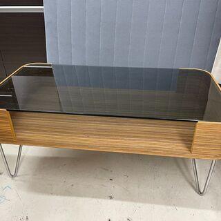GM376 センターテーブル ローテーブル ガラステーブル  1...