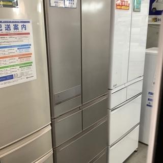 【大容量】三菱 5ドア冷蔵庫 517L MR-JX53Z-NZ ...