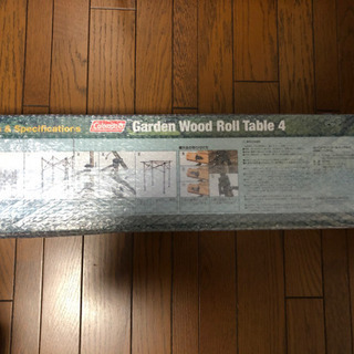 Coleman ガーデンウッドロールテーブル4 (110)