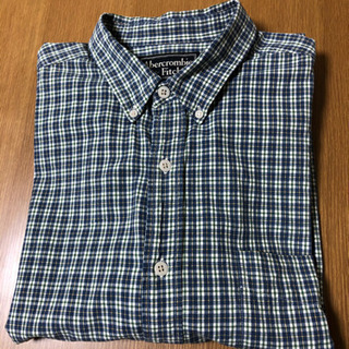 Abercrombie & Fitch アバクロ チェック長袖シ...