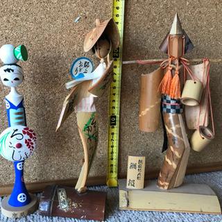 竹人形など3体セット
