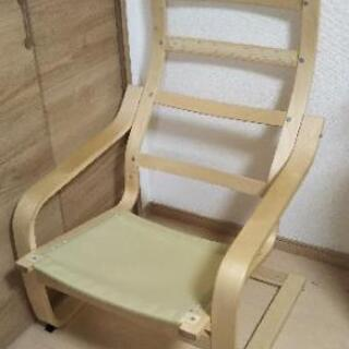 【ネット決済】【再値下げしました!】IKEA POANG ポエン...