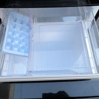 ☆三菱 MITSUBISHI MR-P15A-B 146L 2ドアノンフロン冷凍冷蔵庫◆2016年製・お洒落なラウンドカットデザイン − 神奈川県