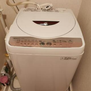 シャープ 洗濯機 6kg
