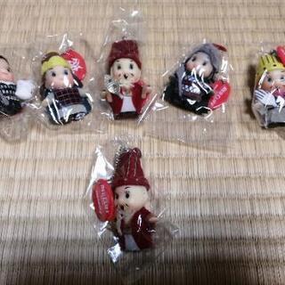 レッドクリフのキャラクター人形 5種類
