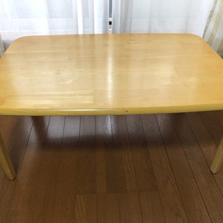 ローテーブル 天然木